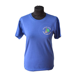 Royal T-shirt with Greyfriars embroidery