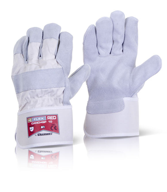 Canadian High Quality B-Flex Glove Red  (CANCHQP)