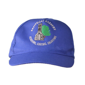 Royal Blue legionnaire Hat with Greyfriars embroidery