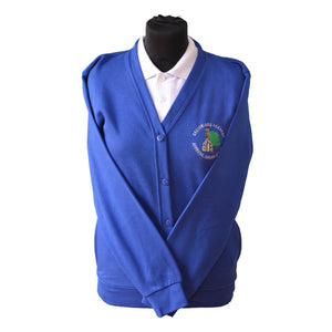 Royal Cardigan with Greyfriars embroidery