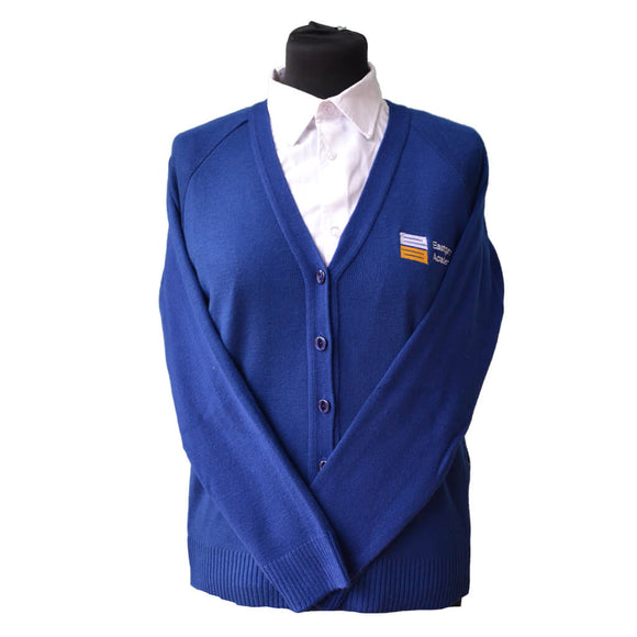 Royal Cardigan with Eastgate embroidery