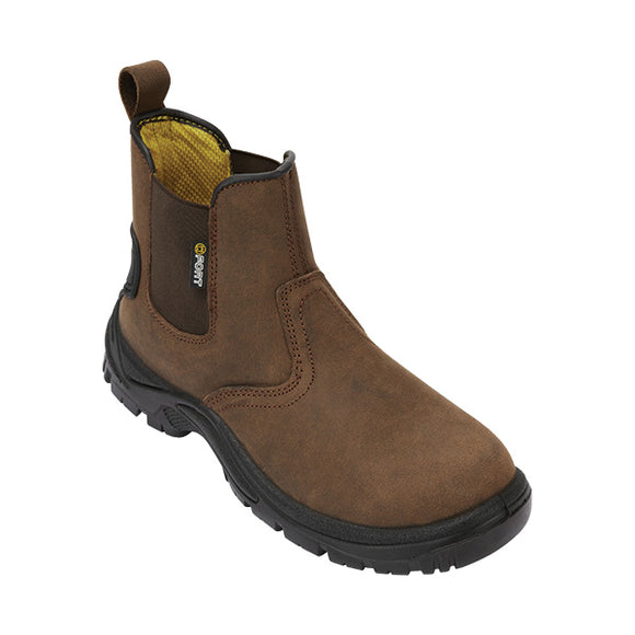 FORT Regent Safety Boot Brown