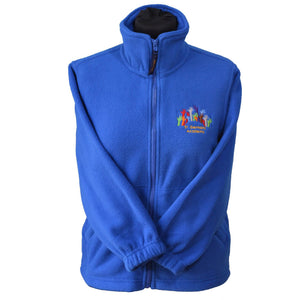 Royal Micro Fleece with St Germans embroidery