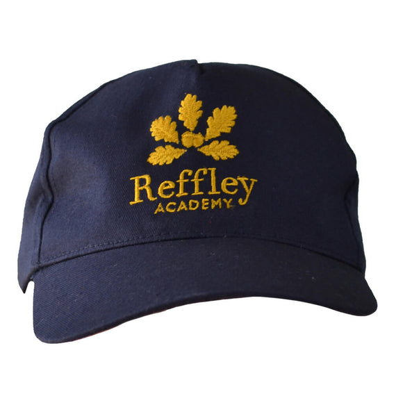 Navy Leginaire Hat with Reffley embroidery