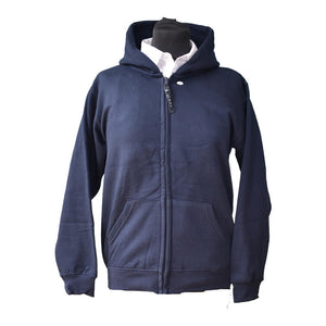 Full Zip Hooded Sweatshirt (Whitefriars)