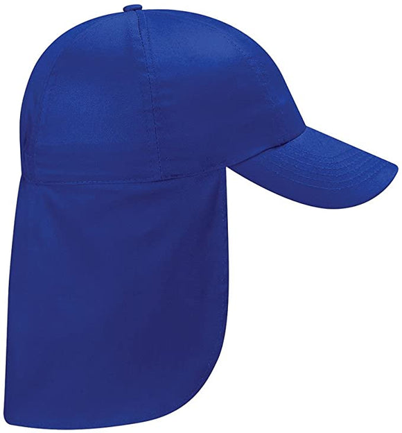 Royal Blue legionnaire Hat with North Wootton embroidery