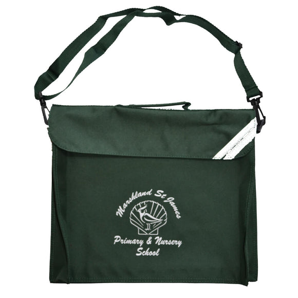 Bottle Green Junior Despatch Bag (Marshland)