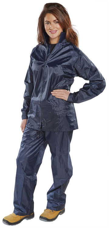 NYLON B-DRI SUIT NAVY