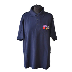 Uneek Classic Navy Poloshirt with CCN embroidery