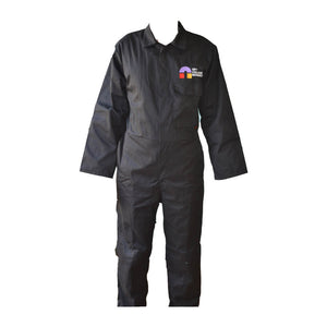 Standard Coverall Black with CCN embroidery (Motor Vehicle)