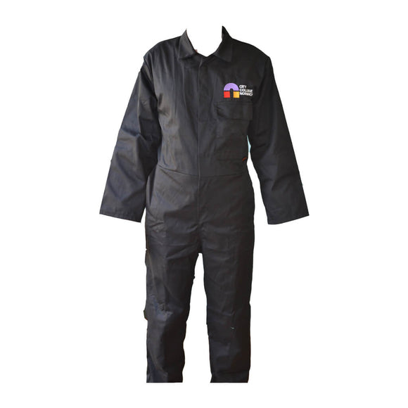 Standard Coverall Black with CCN embroidery (Engineering)