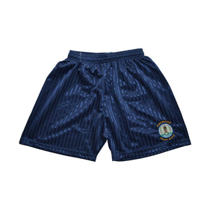 Navy Shadow Shorts with Gaywood embroidery