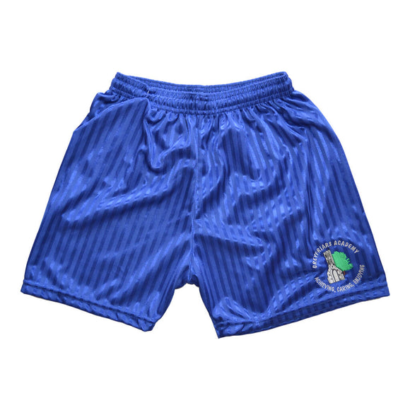 Royal Shadow Shorts with Greyfriars embroidery