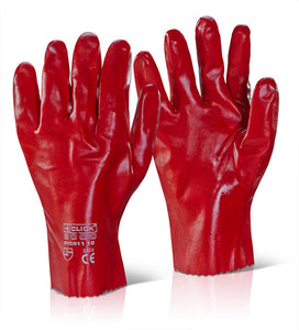 "Pvc Gauntlet 11"" Red (PVCR11)"