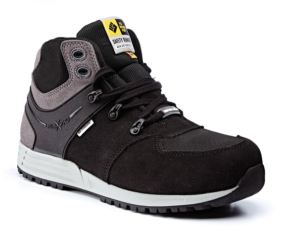 Safety Trainer Boot S3 SRC ESD S Black/Grey (POWER)