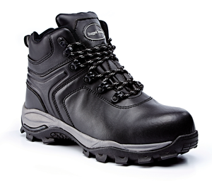Black Leather Metal Free Waterproof Hiker S3 SRC S
