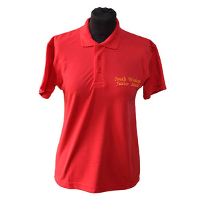 Polo Shirt with South Wootton Junior embroidery