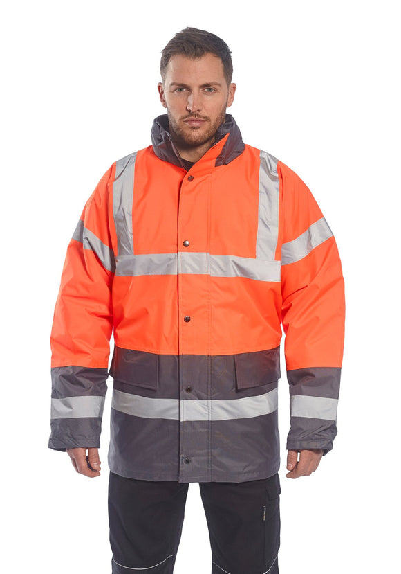 Hi-Vis Two Tone Traffic Jacket (S467)