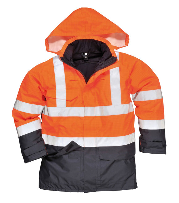 Bizflame Rain Hi-Vis Multi-Protection Jacket (S779)