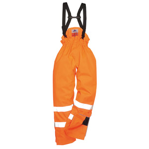 Bizflame Rain Unlined - Hi-Vis Antistatic FR Trouser (S780)