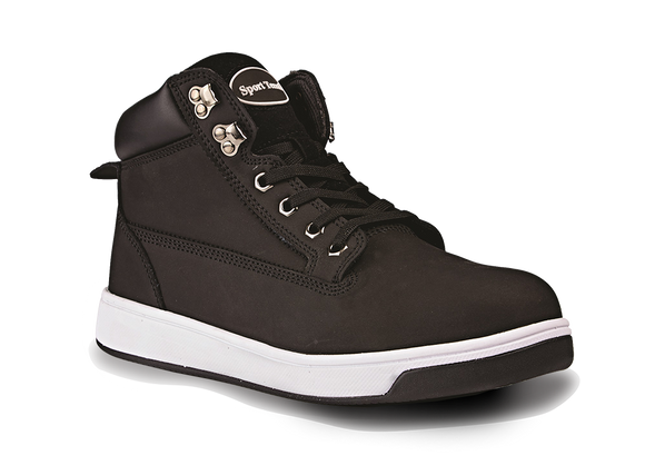 Nubuck Sneeker Boot Black ( Motor Vehicle)