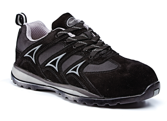 Metal Free Trainer S1P SRC Black/Grey (ST681)