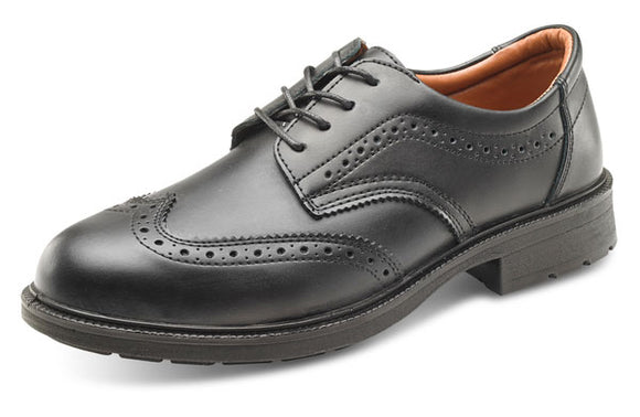 Brogue Safety Shoe S1 Black (SW2011)