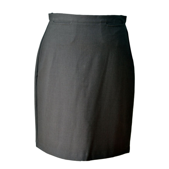 Grey Girls Straight Skirt (KES)