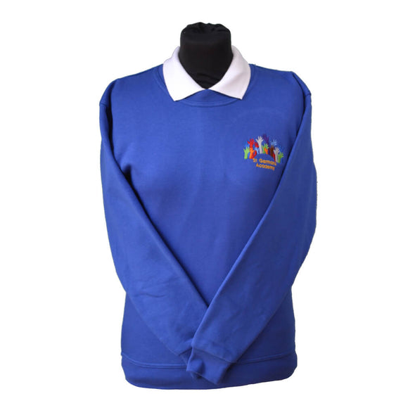 Royal Sweatshirt with St Germans embroidery