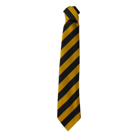 Gold/Black Traditional Tie (KLA)