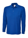 Long Sleeve Poloshirt