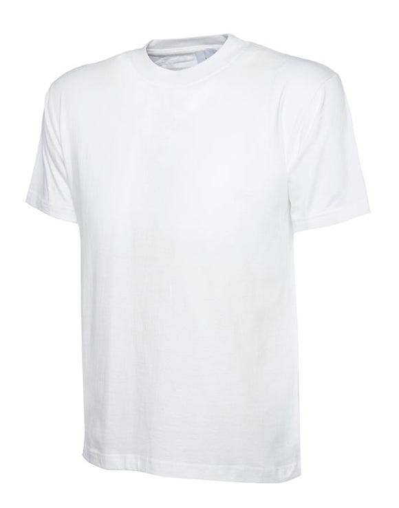 White T-Shirt with Blenheim print