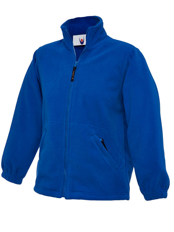 Royal Micro Fleece with Eastgate embroidery