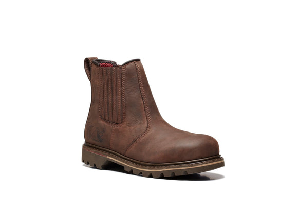 RAWHIDE BROWN DEALER BOOT