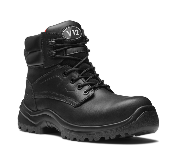 Otter Derby Boot Black (V6400.01)