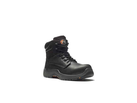 Bison Igs Waxy Hide Boot Black (VR600.01)