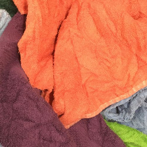Coloured Toweling Rag 10Kg (TRAG10)