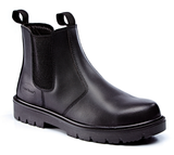 Leather Dealer Safety Boot Black (Carpentry & Joinery)