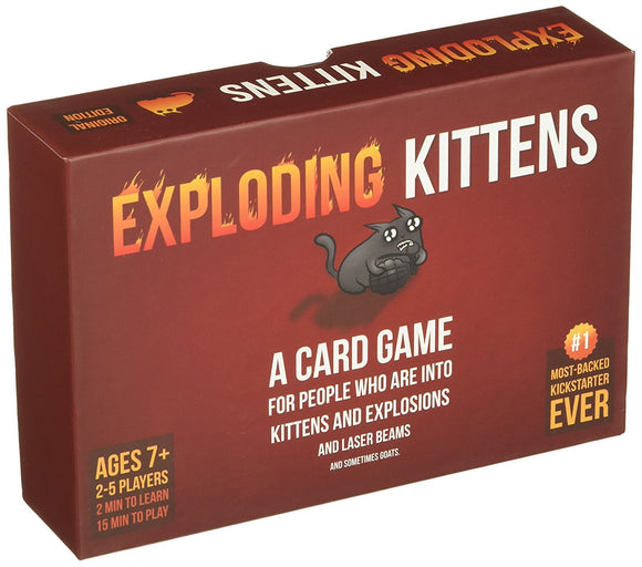 Exploding Kittens - - Card Game