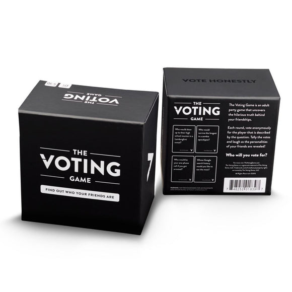 The Voting Game - - Card