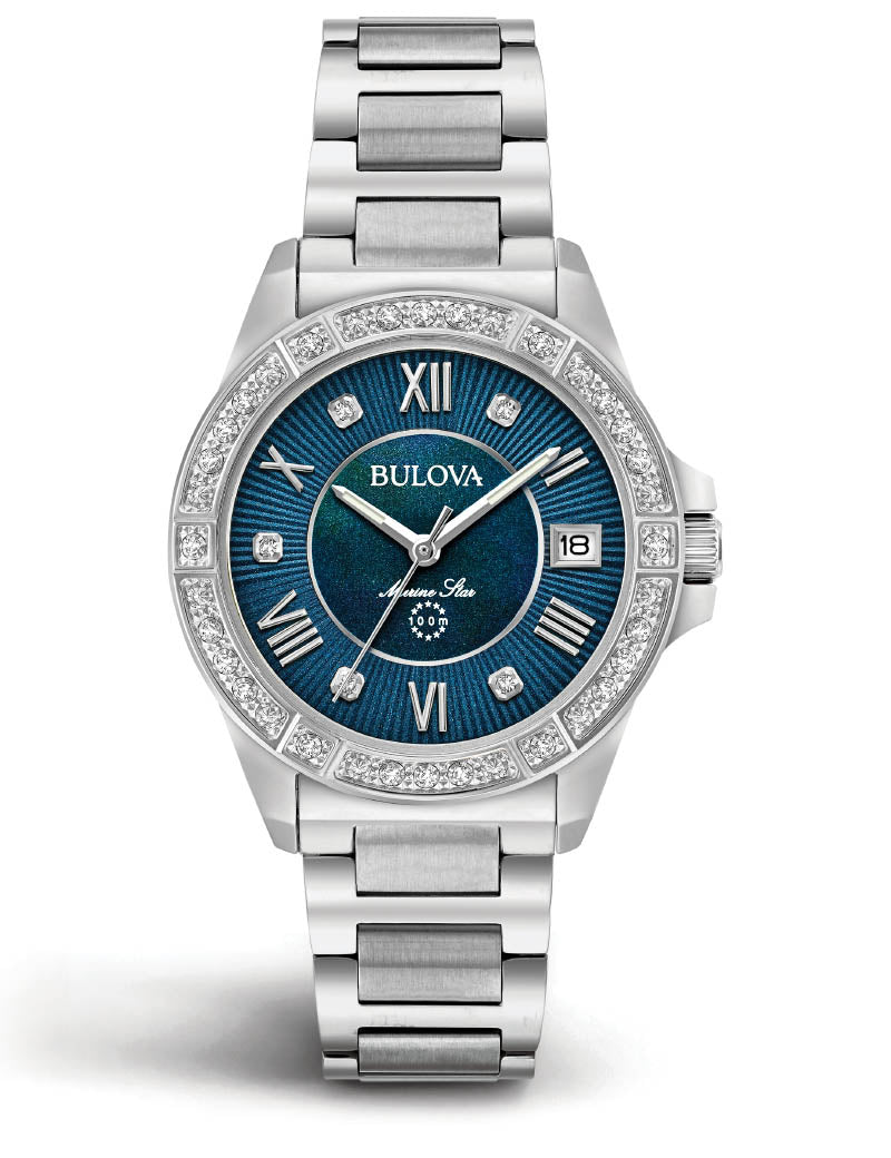 Bulova Marine Star Ladies 96R215