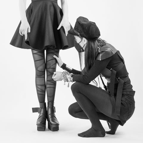 Making Of Esther Perbandt x Item m6 Tights