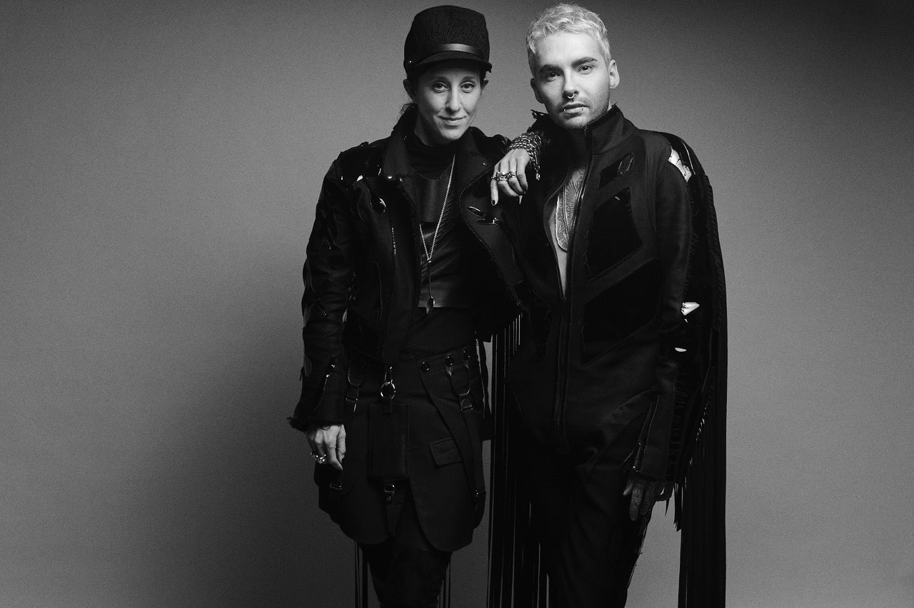 Bill_Kaulitz_and_Esther_Perbandt_Tokio_Hotel_White_Lies