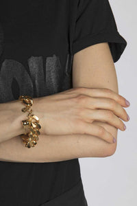 "Bracelet ""Tooth"" gold"