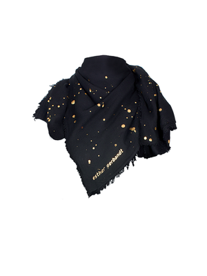 GOLDEN DOTS (built in mask) - Scarf
