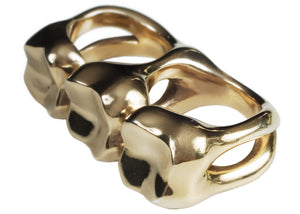 TRIPLE TOOTH - Ring