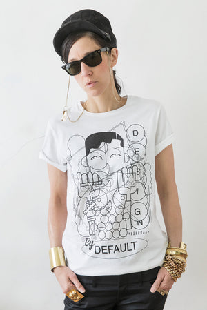 DESIGNED BY DEFAULT - Statement T-Shirt