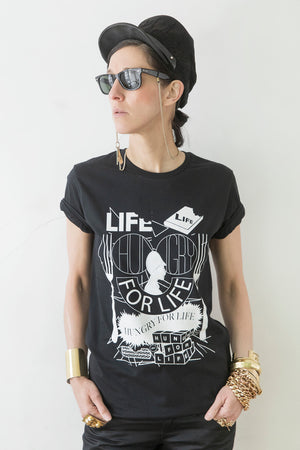 HUNGRY FOR LIFE - Statement T-Shirt