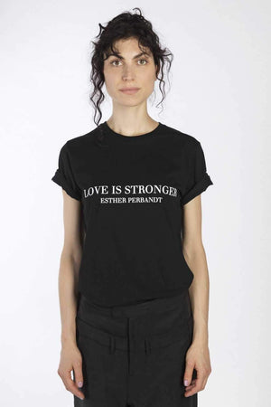 LOVE IS STRONGER - Esther Perbandt T-shirt | esther perbandt