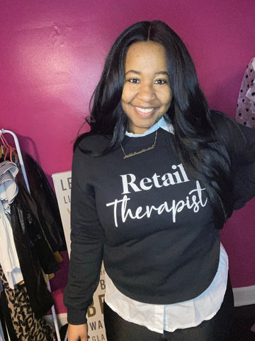 Retail Therapist Sweatshirt